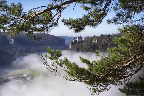 Aussicht Glasträgerfels Schloss Werenwag