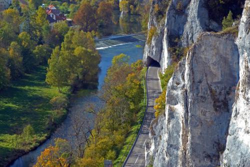 Aussicht Kreuzfelsen auf Gutenstein